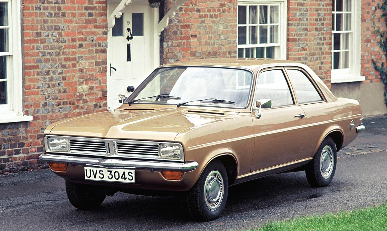 O Vauxhall Viva foi outro dos