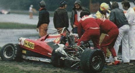 Acidente fatal de Gilles Villeneuve, no GP da Bélgica de Formula 1 - by autoandrive.com