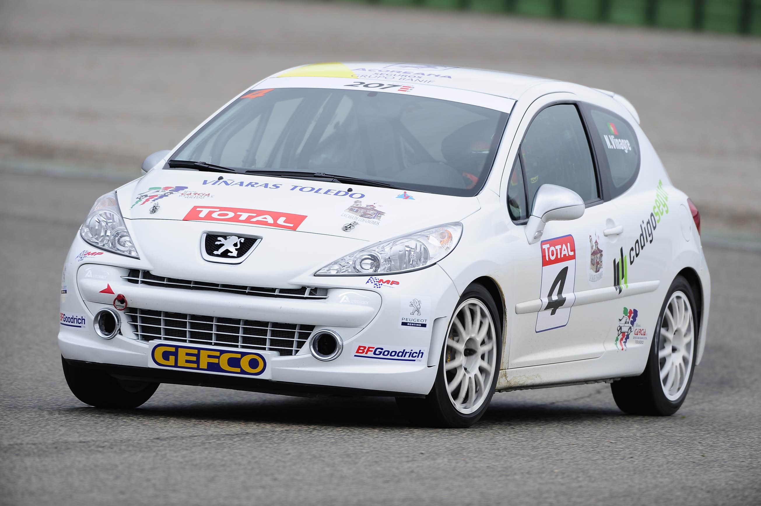 Copa Peugeot 207 THP regressa