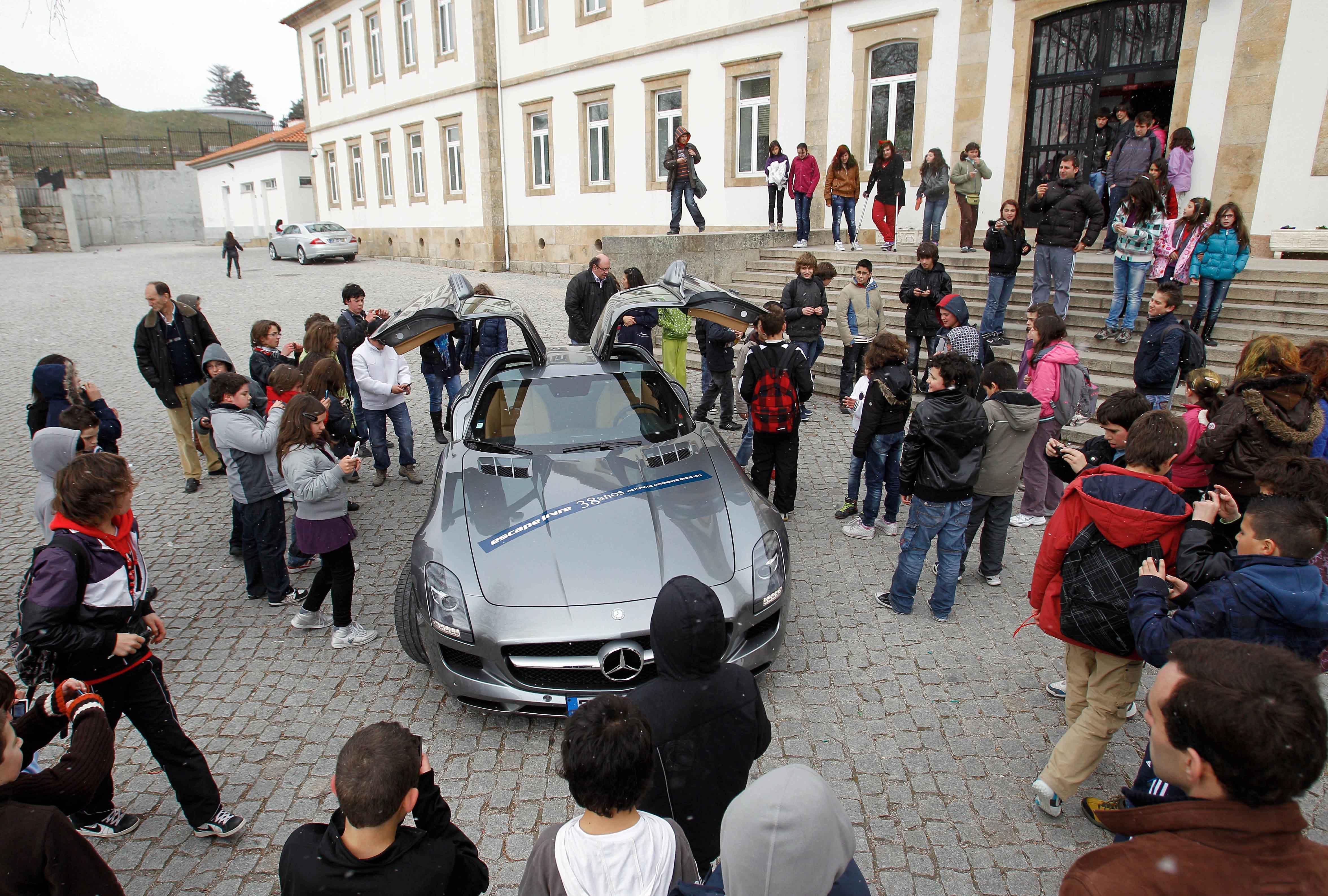 O Mercedes-Benz SLS AMG,