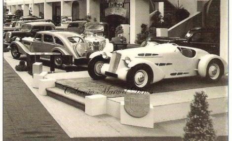 O Edfor foi apresentado no Salão Automóvel do Porto de 1937