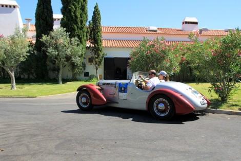 O Edfor ainda hoje surge em acção como no Algarve Classic Cars de 2012