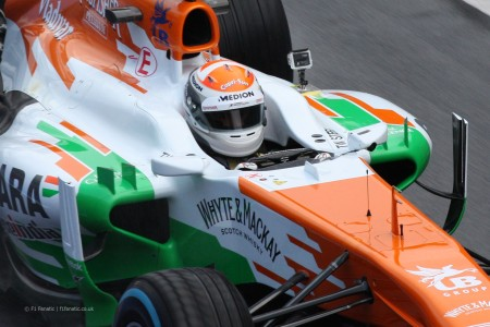 Adrian Sutil vai regressar à F1 e à Force India