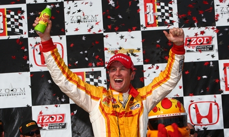 Ryan Hunter-Reay ganhou o GP do Alabama