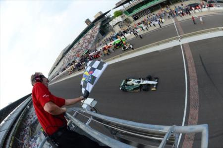 "Ed Carpenter fez a ""pole position"" para as próximas Indy 500"