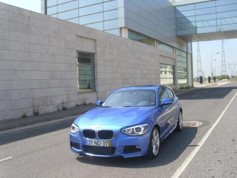 O BMW 125d M-Line enche as  medidas a qualquer um