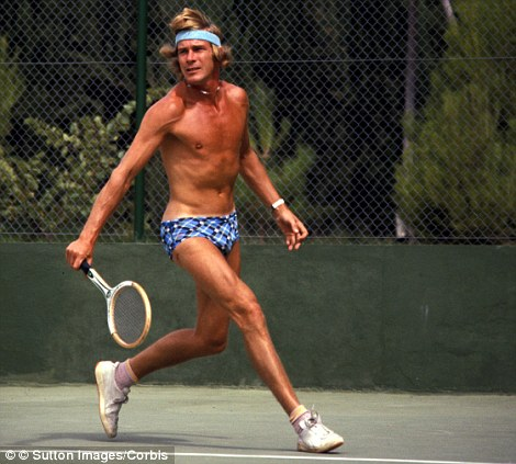 Depois de deixar a F1 deixou também os vícios e dedicou-se a desportos como o ténis