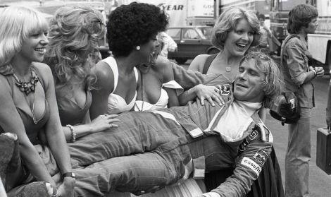 James Hunt era verdadeiramente adorado pelas mulheres