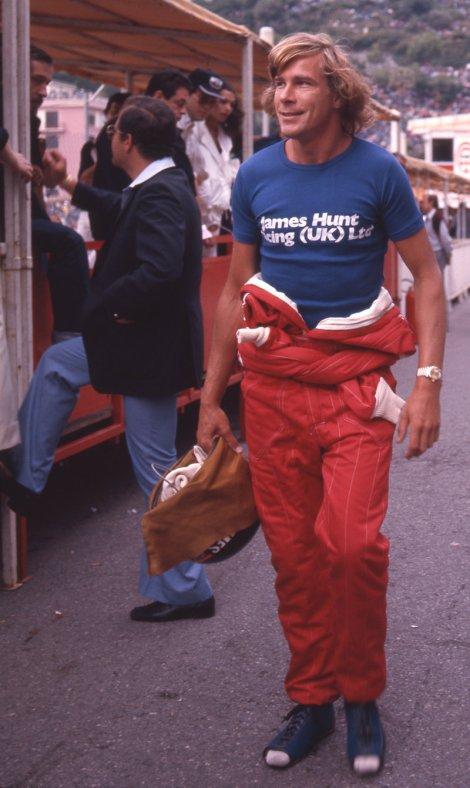 James Hunt, GP do Mónaco, 1977