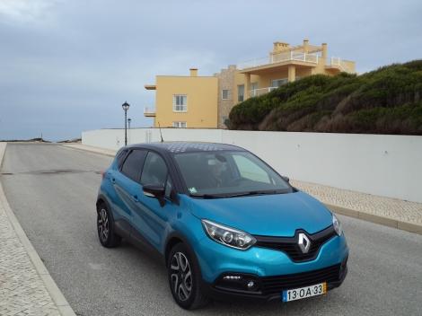 O Renault Captur é irreverente e faz-se notar facilmente
