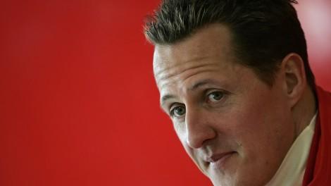 Michael Schumacher já estará a intergair cm o mundo exterior