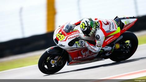Andrea Iannone foi o melhor piloto das Ducati