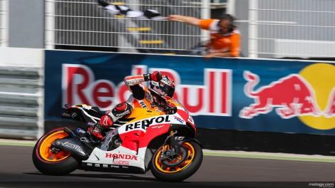 Marc Márquez está imbatível este ano no MotoGP