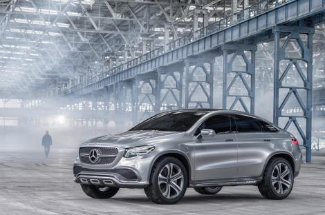 A Mercedes-Benz apresentou o Concept Coupé SUV