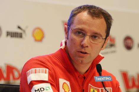 Stefano Domenicalli deixou a equipa Ferrari de F1