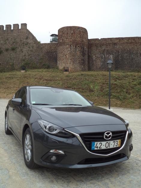 O Mazda 3 apenas tem disponível o motor 1.5 SKYACTIV-G a gasolina de 101 cv
