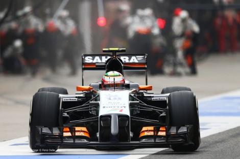 A Force India voltou a colocar os seus dois carros nos pontos