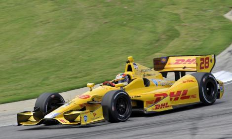 Ryan Hunter-Reay ganhou a corrida de IndyCar do Alabama