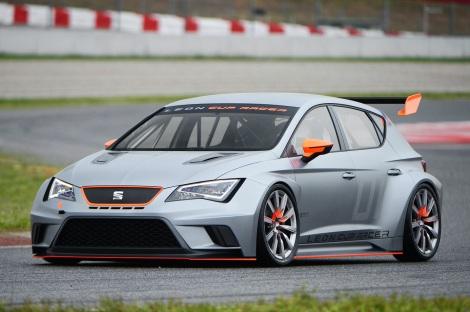O SEAT Leon Cup Racer foi apresentado em Barcelona
