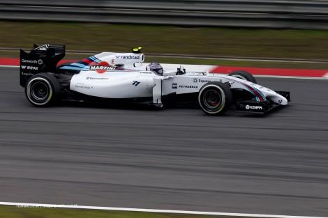Valtteri Bottas foi sétimo com o Williams