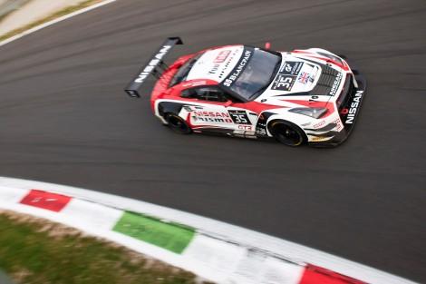 Miguel Faísca pontuou pela primeira vez na Blancain Endurance Series