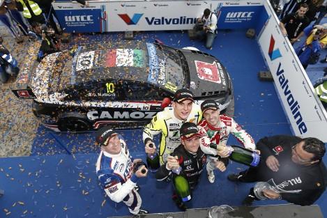 Gianni Morbidelli foi o primeiro vencedor não-Citroën do ano