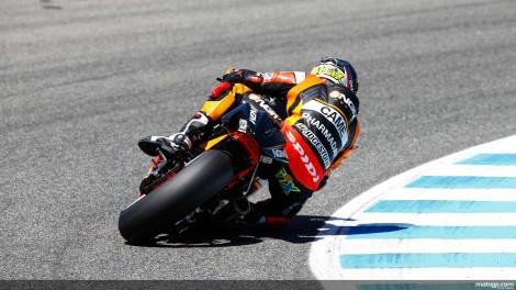 Aleix Espargarò voltou a ser muito competitivo com a Forward Honda