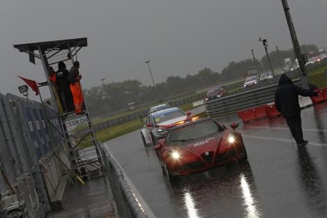 A chuva foi a grande protagonista da jornada de Slovakiaring