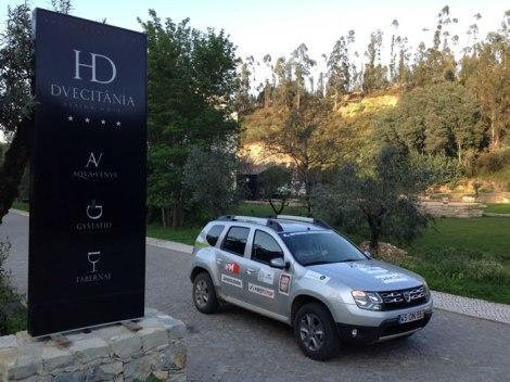 O Hotel Duecitânia será a sede de operações do Raid