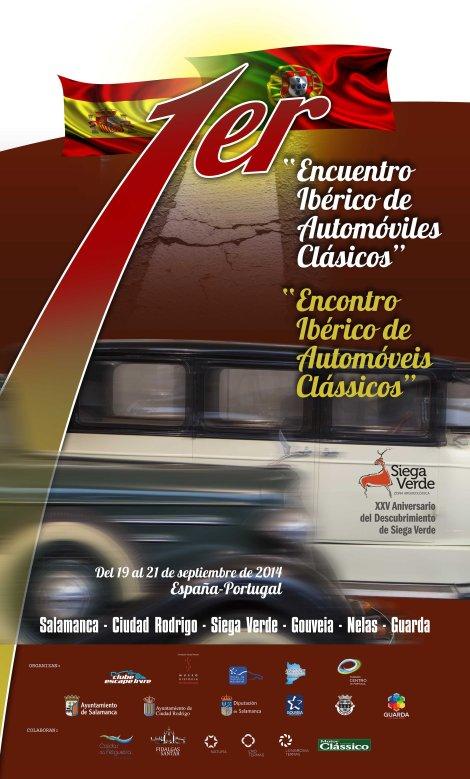 Cartaz_Encontro Ibérico de Automoveis Clássicos
