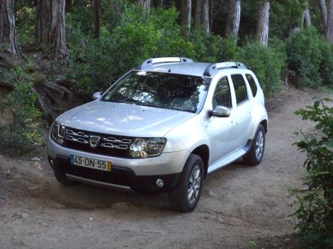 O Duster é dos 4x4 com maiores ângulos de entrada e de saída