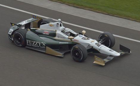 """Ed Carpenter fez a sua segunda """"pole"""" seguida para as Indy 500"""