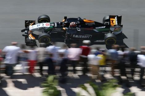 Nico Hulkenberg terminou em 5º com o Force India/Mercedes
