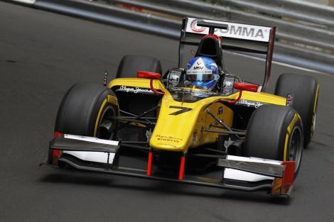 Jolyon Palmer venceu a prmeira corrida de GP2 do Mónaco
