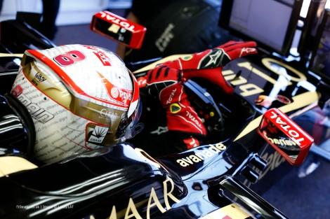 A Lotus voltou a pontuar com Romain Grosjean