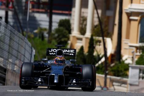 Jenson Button foi o melhor dos McLaren ao terminar em 6º