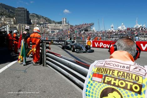 Nico Rosberg venceu pelo segundo ano seguido no Mónaco