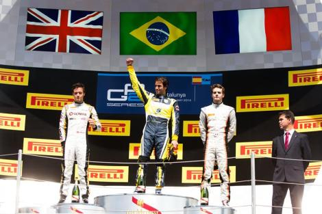 Felipe Nasr venceu pela primeira vez na GP2 em Barcelona