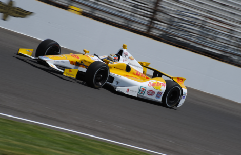 Ryan Hunter-Reay ganhou as suas primeiras Indy 500