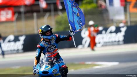 Alex Márquez venceu nas Moto3