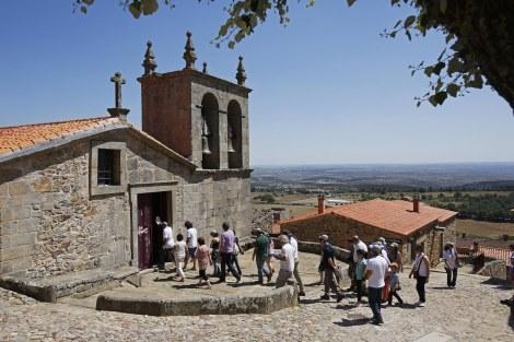 A Aldeia Histórica de Castelo Rodrigo foi visitada no sábado