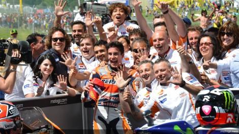 Marc Márquez continua imbatível no MotoGP