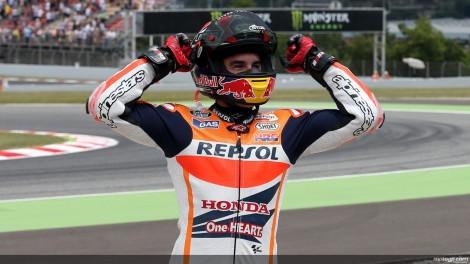 Sete corridas, sete vitórias - eis o incrivel almarés de Marc Márquez este ano no MotoGP