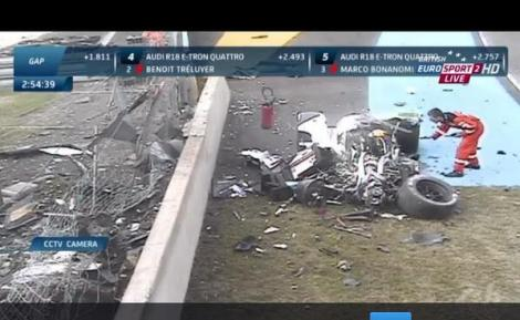 Esta foi saiu o Twiter e reflete bem o estado do R18 depois do voo