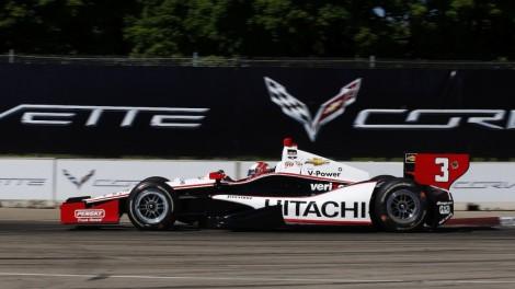 Helio Castroneves venceu  segunda corrida de Detroit