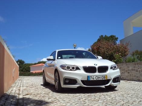 O BMW Série 2 é o mais desportivo das suas criações compactas