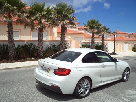 """O BMW 220d Coupé tem """"apenas"""" 184 cv mas já é bem divertido"""