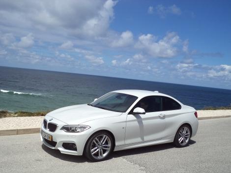 BMW 220d Coupé M-Sport Auto (Fotos: Praia d'El Rey e Alcáçovas)