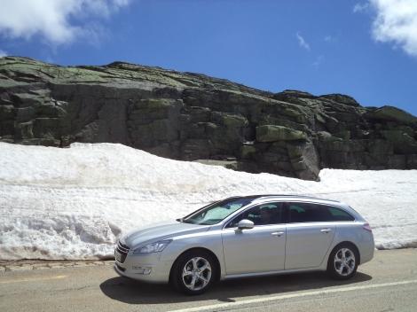 Peugeot 508 SW 1.6 e-HDI 115 Business Line Pack (Fotos: Serra da Estrela em Junho; Manteigas e Belmonte)