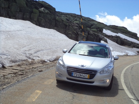 A Peugeot 508 SW com o motor e-HDI de 115 cv é muito económica